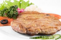 Pork steak with